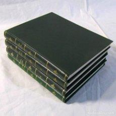Coleccionismo de Los Domingos de ABC: 24 NÚMEROS DE RONDA IBERIA, REVISTA DE VUELO, ENCUADERNADAS EN 4 VOLÚMENES, AÑOS 70-80. Lote 198570291