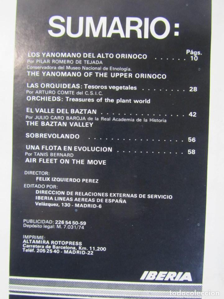 Coleccionismo de Los Domingos de ABC: 24 números de Ronda Iberia, revista de vuelo, encuadernadas en 4 volúmenes, Años 70-80 - Foto 7 - 198570291