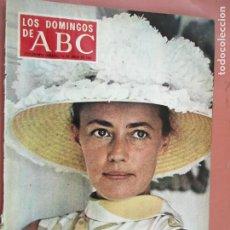Coleccionismo de Los Domingos de ABC: LOS DOMINGOS DE ABC - 14-06-1968 - JEANNE MOREAU . Lote 198663981
