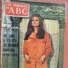 Coleccionismo de Los Domingos de ABC: LOS DOMINGOS DE ABC 09-06-1968 - CLAUDIA CARDINALE - CHARLOT . Lote 198664088