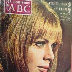 Coleccionismo de Los Domingos de ABC: LOS DOMINGOS DE ABC- 25-05-1968 - BRITT EKLUND . LOS JOVENES INCONFORMISTAS . Lote 198664403