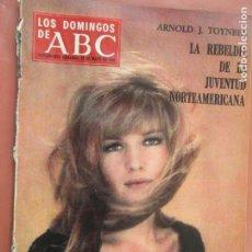 Coleccionismo de Los Domingos de ABC: LOS DOMINGOS DE ABC- 19-05-1968 - MONICA VITTI , ARNOLD H TOYNBEE - EL MUNDO DEL DISCO . Lote 198664560