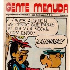 Coleccionismo de Los Domingos de ABC: GENTE MENUDA. Nº 6. LOS DOMINGOS DE ABC. A B C. 1976. POSTER: REAL MADRID. (ST/C86). Lote 199327753