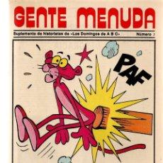Coleccionismo de Los Domingos de ABC: GENTE MENUDA. Nº 7. LOS DOMINGOS DE ABC. A B C. 1976. POSTER: LA PANTERA ROSA. (ST/C86). Lote 199327900