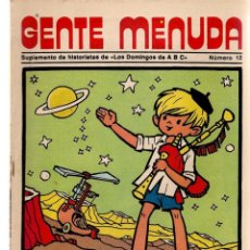 Coleccionismo de Los Domingos de ABC: GENTE MENUDA. Nº 12. LOS DOMINGOS DE ABC. A B C. 1976. POSTER: DANIEL EL TRAVIESO. (ST/C86). Lote 199328258