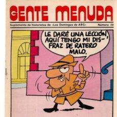 Coleccionismo de Los Domingos de ABC: GENTE MENUDA. Nº 29. LOS DOMINGOS DE ABC. A B C. 1976. POSTER: DANIEL EL TRAVIESO. (ST/C86). Lote 199328423
