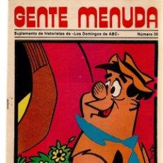 Coleccionismo de Los Domingos de ABC: GENTE MENUDA. Nº 35. LOS DOMINGOS DE ABC. A B C. 1976. POSTER: BUGS BUNNY. (ST/C86). Lote 199328755