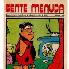Coleccionismo de Los Domingos de ABC: GENTE MENUDA. Nº 45. LOS DOMINGOS DE ABC. A B C. 1976. (ST/C86). Lote 199328982