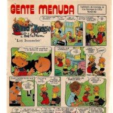 Coleccionismo de Los Domingos de ABC: GENTE MENUDA. Nº 63. LOS DOMINGOS DE ABC. A B C. (ST/C86). Lote 199330025