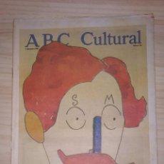 Coleccionismo de Los Domingos de ABC: ABC CULTURAL. NUMERO 353 AÑO 1998.VER SECCIONES EN INDICE.. Lote 199895301