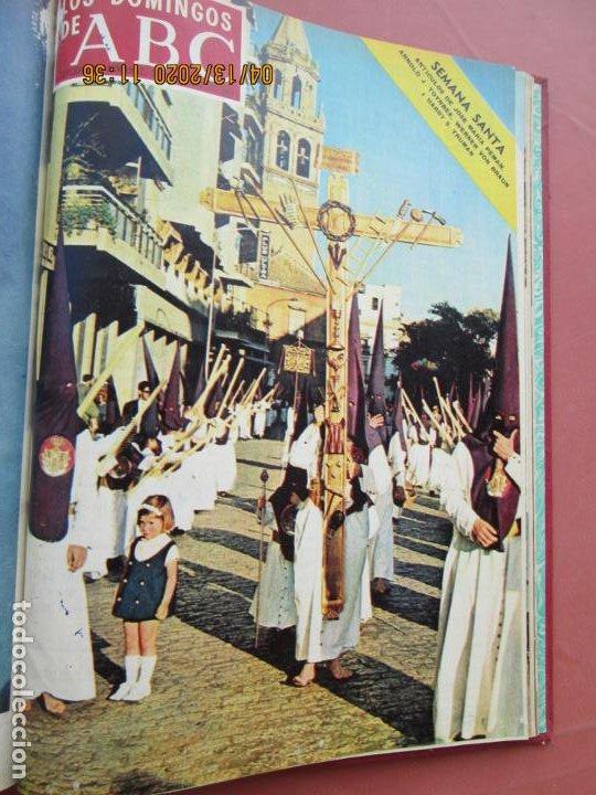 Coleccionismo de Los Domingos de ABC: LOS DOMINGOS DE ABC, AÑO 1969 SUPLEMENTOS COMPLETO Y ENCUADERNADO en 4 TOMOS - Foto 3 - 200201437