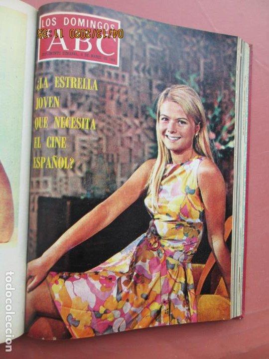 Coleccionismo de Los Domingos de ABC: LOS DOMINGOS DE ABC, AÑO 1969 SUPLEMENTOS COMPLETO Y ENCUADERNADO en 4 TOMOS - Foto 6 - 200201437