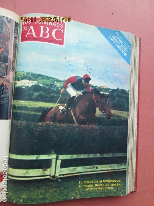 Coleccionismo de Los Domingos de ABC: LOS DOMINGOS DE ABC, AÑO 1969 SUPLEMENTOS COMPLETO Y ENCUADERNADO en 4 TOMOS - Foto 8 - 200201437