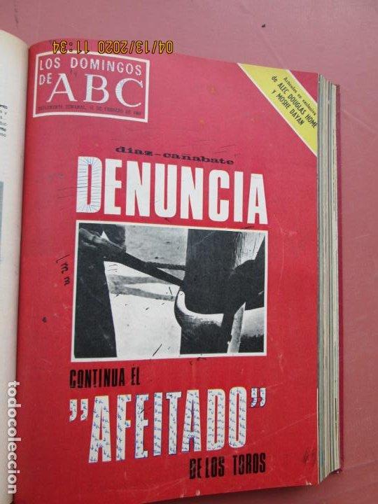 Coleccionismo de Los Domingos de ABC: LOS DOMINGOS DE ABC, AÑO 1969 SUPLEMENTOS COMPLETO Y ENCUADERNADO en 4 TOMOS - Foto 9 - 200201437