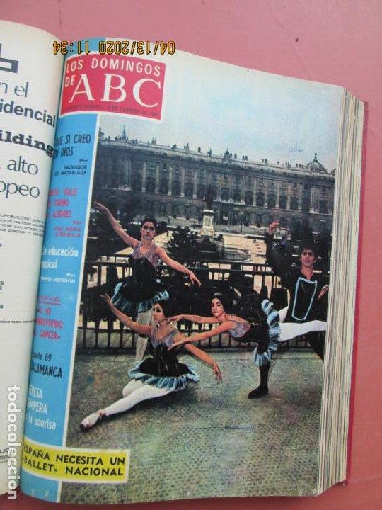 Coleccionismo de Los Domingos de ABC: LOS DOMINGOS DE ABC, AÑO 1969 SUPLEMENTOS COMPLETO Y ENCUADERNADO en 4 TOMOS - Foto 10 - 200201437