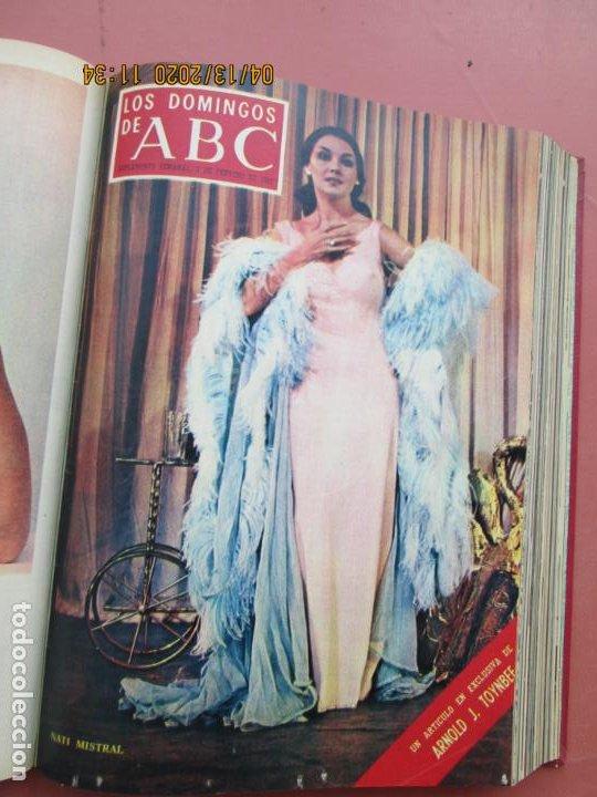 Coleccionismo de Los Domingos de ABC: LOS DOMINGOS DE ABC, AÑO 1969 SUPLEMENTOS COMPLETO Y ENCUADERNADO en 4 TOMOS - Foto 11 - 200201437