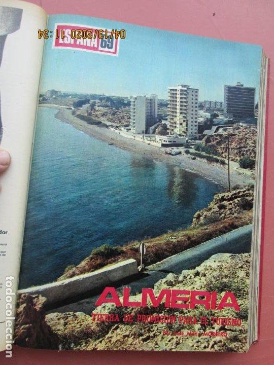 Coleccionismo de Los Domingos de ABC: LOS DOMINGOS DE ABC, AÑO 1969 SUPLEMENTOS COMPLETO Y ENCUADERNADO en 4 TOMOS - Foto 12 - 200201437