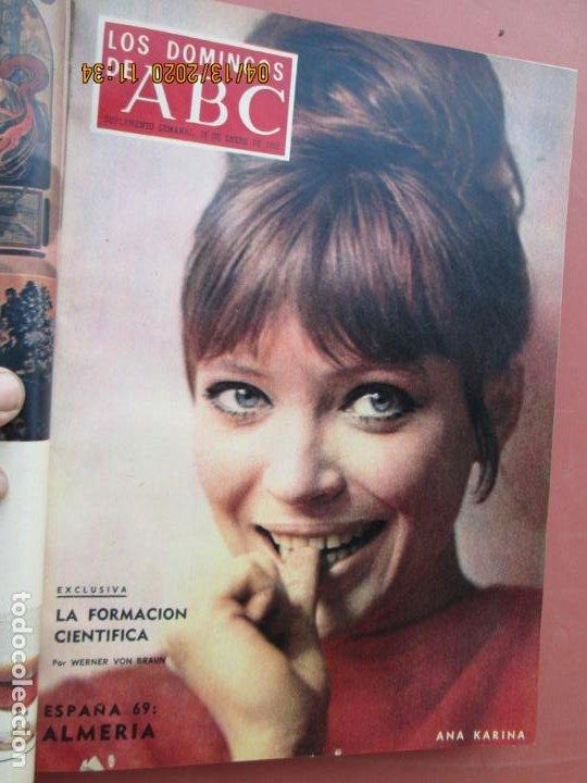 Coleccionismo de Los Domingos de ABC: LOS DOMINGOS DE ABC, AÑO 1969 SUPLEMENTOS COMPLETO Y ENCUADERNADO en 4 TOMOS - Foto 13 - 200201437