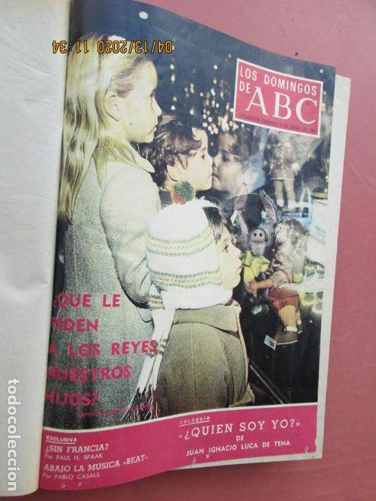 Coleccionismo de Los Domingos de ABC: LOS DOMINGOS DE ABC, AÑO 1969 SUPLEMENTOS COMPLETO Y ENCUADERNADO en 4 TOMOS - Foto 15 - 200201437