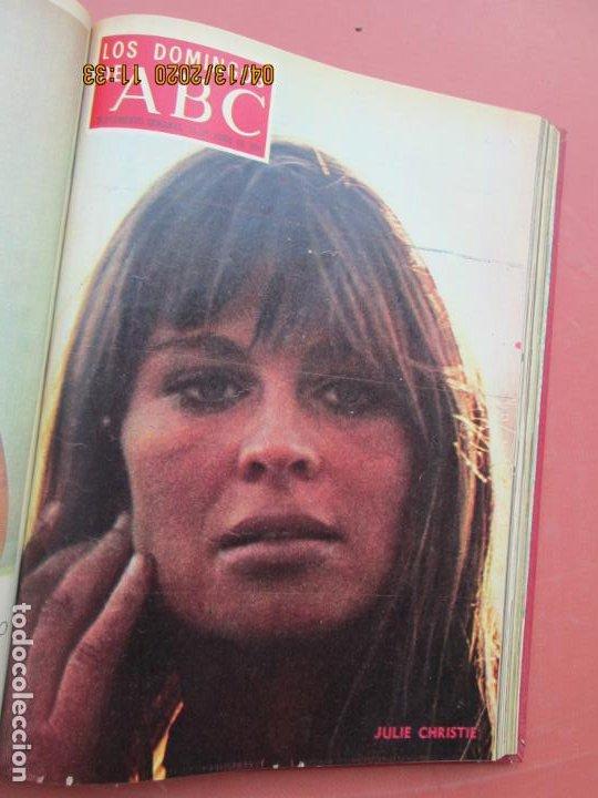 Coleccionismo de Los Domingos de ABC: LOS DOMINGOS DE ABC, AÑO 1969 SUPLEMENTOS COMPLETO Y ENCUADERNADO en 4 TOMOS - Foto 18 - 200201437