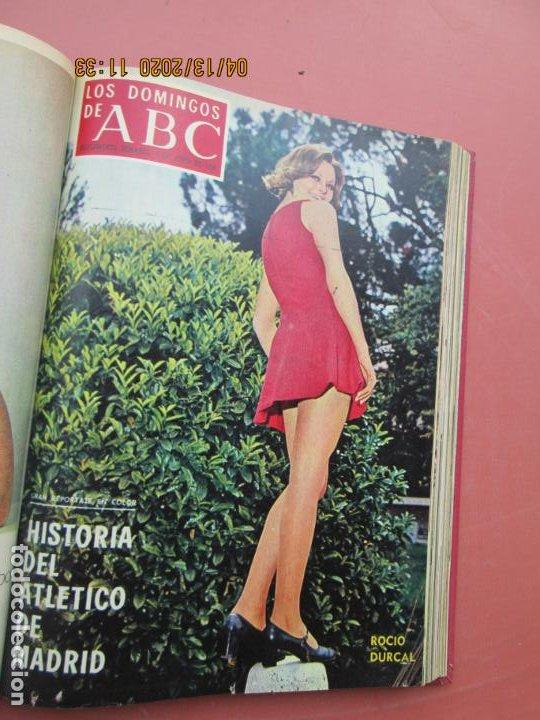 Coleccionismo de Los Domingos de ABC: LOS DOMINGOS DE ABC, AÑO 1969 SUPLEMENTOS COMPLETO Y ENCUADERNADO en 4 TOMOS - Foto 19 - 200201437