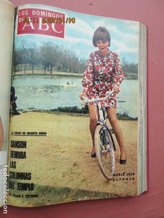 Coleccionismo de Los Domingos de ABC: LOS DOMINGOS DE ABC, AÑO 1969 SUPLEMENTOS COMPLETO Y ENCUADERNADO en 4 TOMOS - Foto 21 - 200201437