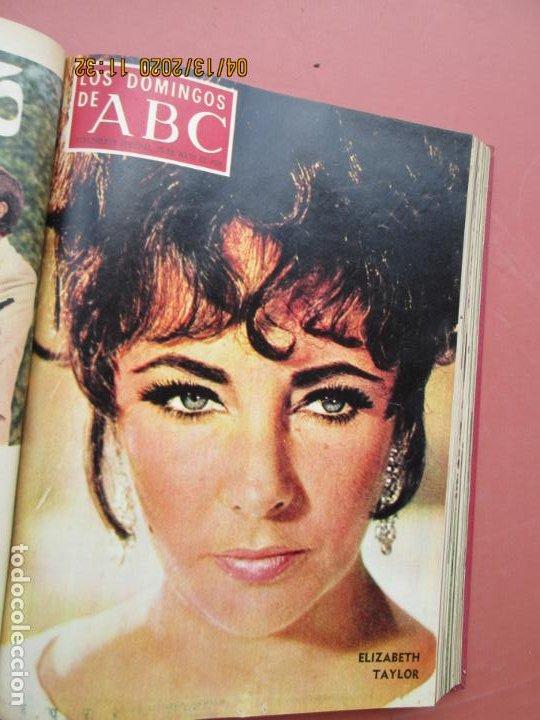Coleccionismo de Los Domingos de ABC: LOS DOMINGOS DE ABC, AÑO 1969 SUPLEMENTOS COMPLETO Y ENCUADERNADO en 4 TOMOS - Foto 22 - 200201437