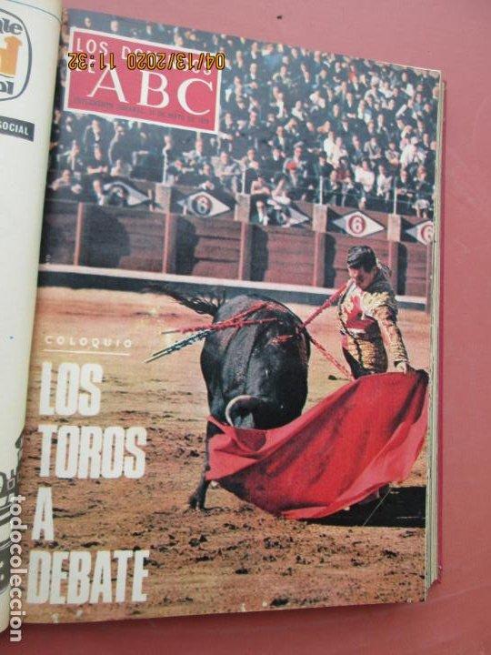 Coleccionismo de Los Domingos de ABC: LOS DOMINGOS DE ABC, AÑO 1969 SUPLEMENTOS COMPLETO Y ENCUADERNADO en 4 TOMOS - Foto 23 - 200201437