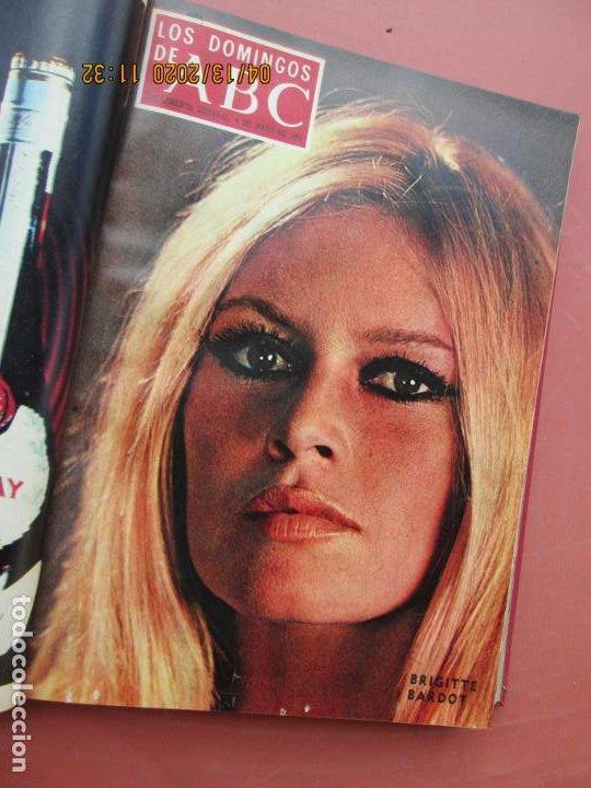 Coleccionismo de Los Domingos de ABC: LOS DOMINGOS DE ABC, AÑO 1969 SUPLEMENTOS COMPLETO Y ENCUADERNADO en 4 TOMOS - Foto 24 - 200201437