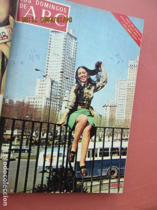 Coleccionismo de Los Domingos de ABC: LOS DOMINGOS DE ABC, AÑO 1969 SUPLEMENTOS COMPLETO Y ENCUADERNADO en 4 TOMOS - Foto 25 - 200201437