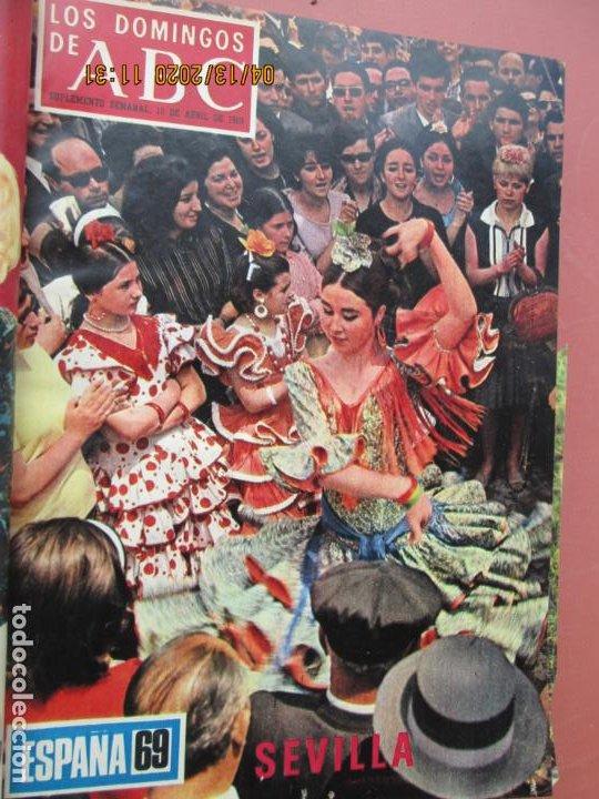 Coleccionismo de Los Domingos de ABC: LOS DOMINGOS DE ABC, AÑO 1969 SUPLEMENTOS COMPLETO Y ENCUADERNADO en 4 TOMOS - Foto 27 - 200201437