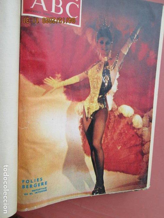 Coleccionismo de Los Domingos de ABC: LOS DOMINGOS DE ABC, AÑO 1969 SUPLEMENTOS COMPLETO Y ENCUADERNADO en 4 TOMOS - Foto 28 - 200201437
