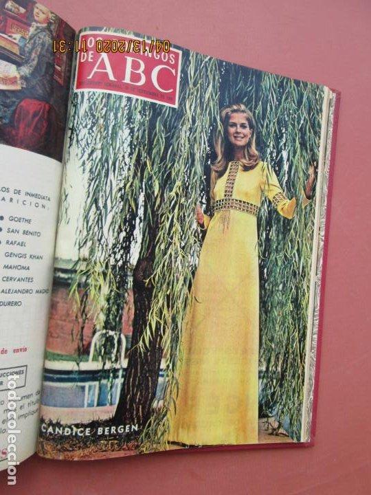 Coleccionismo de Los Domingos de ABC: LOS DOMINGOS DE ABC, AÑO 1969 SUPLEMENTOS COMPLETO Y ENCUADERNADO en 4 TOMOS - Foto 29 - 200201437
