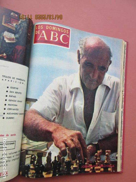 Coleccionismo de Los Domingos de ABC: LOS DOMINGOS DE ABC, AÑO 1969 SUPLEMENTOS COMPLETO Y ENCUADERNADO en 4 TOMOS - Foto 30 - 200201437