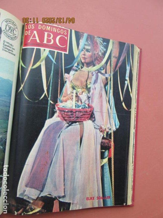 Coleccionismo de Los Domingos de ABC: LOS DOMINGOS DE ABC, AÑO 1969 SUPLEMENTOS COMPLETO Y ENCUADERNADO en 4 TOMOS - Foto 31 - 200201437