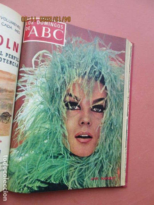Coleccionismo de Los Domingos de ABC: LOS DOMINGOS DE ABC, AÑO 1969 SUPLEMENTOS COMPLETO Y ENCUADERNADO en 4 TOMOS - Foto 32 - 200201437