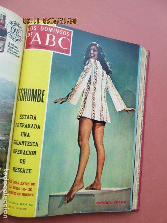 Coleccionismo de Los Domingos de ABC: LOS DOMINGOS DE ABC, AÑO 1969 SUPLEMENTOS COMPLETO Y ENCUADERNADO en 4 TOMOS - Foto 33 - 200201437