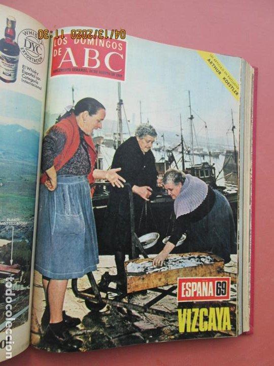 Coleccionismo de Los Domingos de ABC: LOS DOMINGOS DE ABC, AÑO 1969 SUPLEMENTOS COMPLETO Y ENCUADERNADO en 4 TOMOS - Foto 34 - 200201437