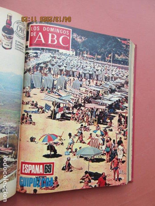 Coleccionismo de Los Domingos de ABC: LOS DOMINGOS DE ABC, AÑO 1969 SUPLEMENTOS COMPLETO Y ENCUADERNADO en 4 TOMOS - Foto 36 - 200201437