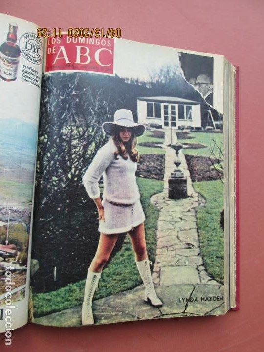Coleccionismo de Los Domingos de ABC: LOS DOMINGOS DE ABC, AÑO 1969 SUPLEMENTOS COMPLETO Y ENCUADERNADO en 4 TOMOS - Foto 37 - 200201437