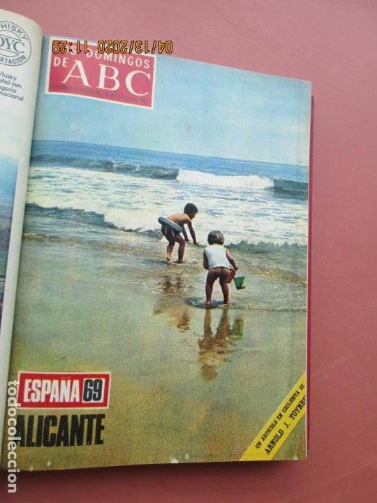 Coleccionismo de Los Domingos de ABC: LOS DOMINGOS DE ABC, AÑO 1969 SUPLEMENTOS COMPLETO Y ENCUADERNADO en 4 TOMOS - Foto 39 - 200201437