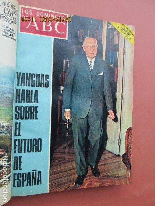 Coleccionismo de Los Domingos de ABC: LOS DOMINGOS DE ABC, AÑO 1969 SUPLEMENTOS COMPLETO Y ENCUADERNADO en 4 TOMOS - Foto 40 - 200201437