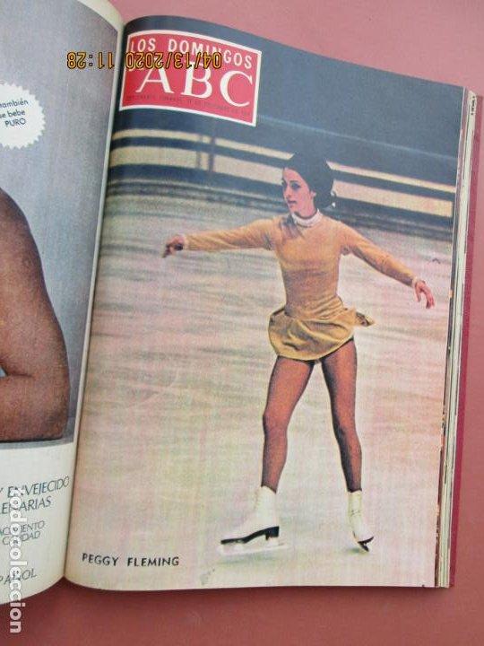 Coleccionismo de Los Domingos de ABC: LOS DOMINGOS DE ABC, AÑO 1969 SUPLEMENTOS COMPLETO Y ENCUADERNADO en 4 TOMOS - Foto 43 - 200201437