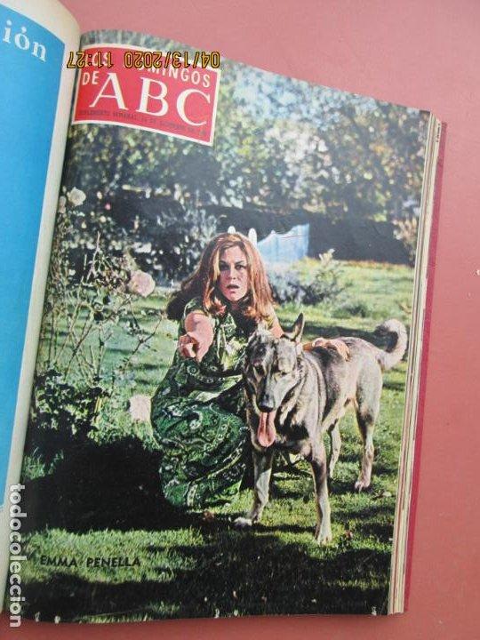 Coleccionismo de Los Domingos de ABC: LOS DOMINGOS DE ABC, AÑO 1969 SUPLEMENTOS COMPLETO Y ENCUADERNADO en 4 TOMOS - Foto 44 - 200201437
