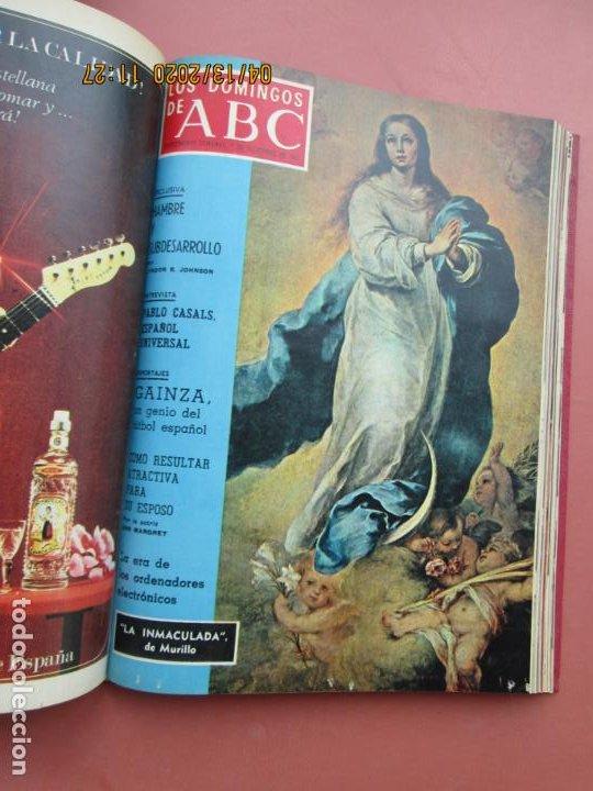 Coleccionismo de Los Domingos de ABC: LOS DOMINGOS DE ABC, AÑO 1969 SUPLEMENTOS COMPLETO Y ENCUADERNADO en 4 TOMOS - Foto 45 - 200201437