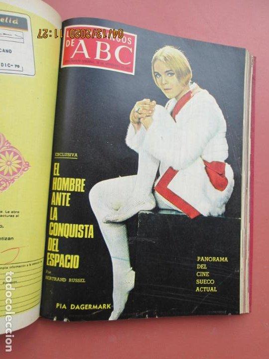 Coleccionismo de Los Domingos de ABC: LOS DOMINGOS DE ABC, AÑO 1969 SUPLEMENTOS COMPLETO Y ENCUADERNADO en 4 TOMOS - Foto 46 - 200201437