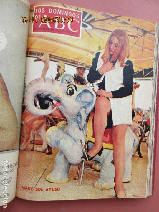 Coleccionismo de Los Domingos de ABC: LOS DOMINGOS DE ABC, AÑO 1969 SUPLEMENTOS COMPLETO Y ENCUADERNADO en 4 TOMOS - Foto 48 - 200201437