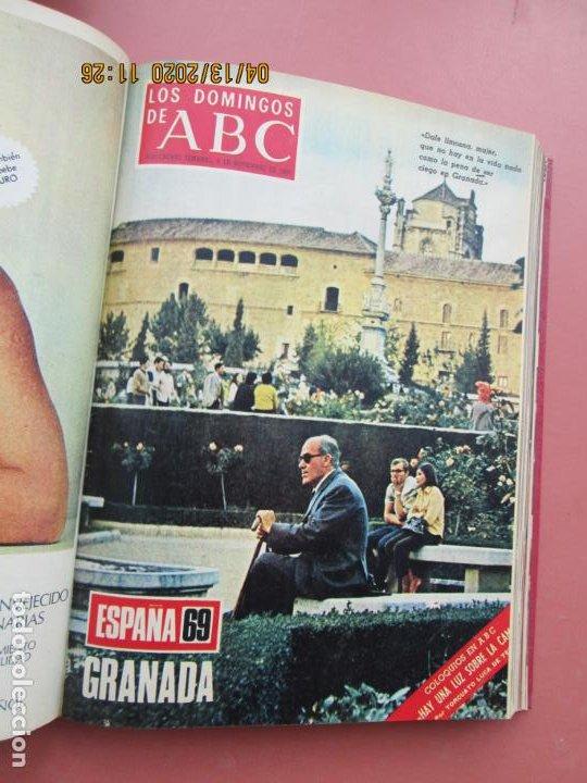 Coleccionismo de Los Domingos de ABC: LOS DOMINGOS DE ABC, AÑO 1969 SUPLEMENTOS COMPLETO Y ENCUADERNADO en 4 TOMOS - Foto 49 - 200201437