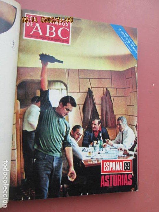 Coleccionismo de Los Domingos de ABC: LOS DOMINGOS DE ABC, AÑO 1969 SUPLEMENTOS COMPLETO Y ENCUADERNADO en 4 TOMOS - Foto 51 - 200201437