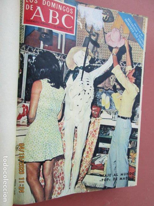Coleccionismo de Los Domingos de ABC: LOS DOMINGOS DE ABC, AÑO 1969 SUPLEMENTOS COMPLETO Y ENCUADERNADO en 4 TOMOS - Foto 54 - 200201437